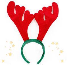La Fiesta de Olivia | Diadema Reno Navidad | Decoración de fiestas infantiles, bodas y eventos