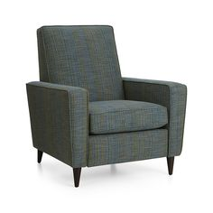 would this chair help update the lr harvey smoke leather chair crate and barrel house ideas pinterest crates barrels and office nook - Crate And Barrel Leather Chair