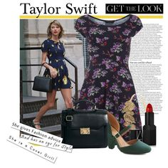 """Taylor Swift GET THE LOOK"" by reddotdaily on Polyvore"