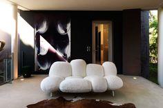 Cipria designová sedací souprava v bílé, inspirace pro vaše bydlení. / living room sofa