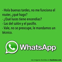 Chistes de WhatsApp: Problemas con el router