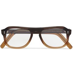 28009e96dc51d6 Cutler   Gross square-frame ombre acetate optical frames Accoutrement,  Yeux, Mode Homme