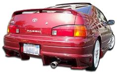 1992-1995 Toyota Paseo Duraflex Bomber Rear Bumper Cover - 1 Piece