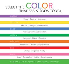 1000 Images About Color Healing On Pinterest