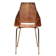 copper chair by Blu Dot $299