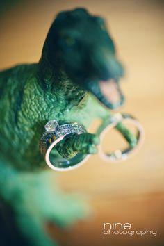 Creative Wedding Ring Photos ~ Dinosaur, T-rex Dinosaur Wedding, Dinosaur Party, Wedding Things, Wedding Blog, Wedding Photos, Event Photography, Couple Photography, Summer Wedding, Wedding Day