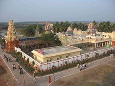 The Narsimha swamy temple at Antarvedi.