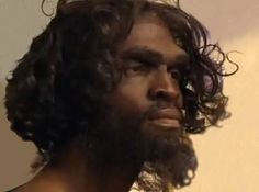 paleolithic man reconstruction - Google Search