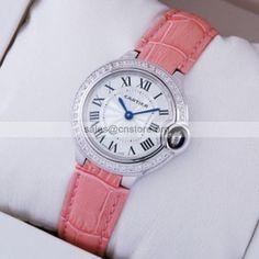 top rated falsify #Cartier #Ballon Bleu #watches #lady diamond swarovski 2016