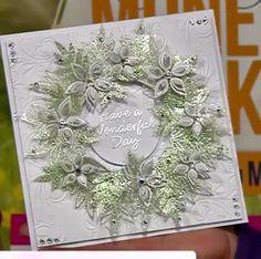 beautiful idea for a wreath