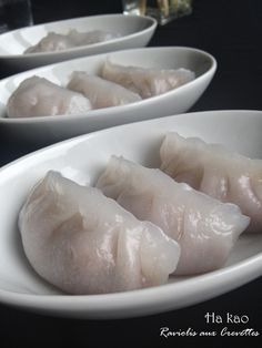 Entre Epices et Macarons: Ha Kao { Raviolis aux crevettes à la vapeur }