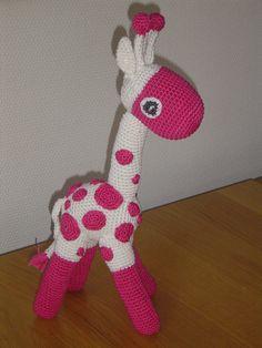Giraf haakpatroon www.amigurumi.com.ua