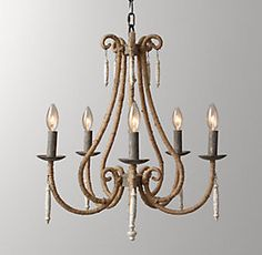 Julien Chandelier-possibly in the master bath to coordinate with rustic sconces Chandelier, Chandeliers And Pendants, Entry Lighting, Lighting Updates, Wood Pendant Chandelier, Chandelier Lamp, Rustic Chandelier, Neutral Dining Room, Ceiling Lights