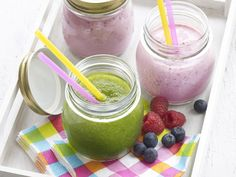 - Libelle Lekker! Smoothie Vert, Go For It, Recipe Images, I Love Food, Smoothie Recipes, Pudding, Healthy Recipes, Healthy Food, Meals