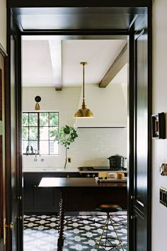 Jessica Helgerson Interior Design - Alhambra Kitchen - Granada Tile - Badajoz cement tile design