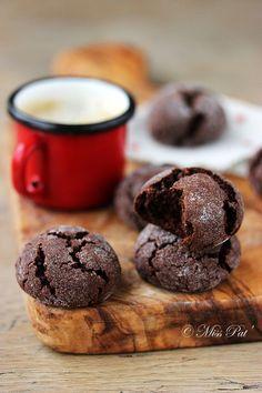 Craquelés au cacao, vegan et sans gluten - Miss Pat'