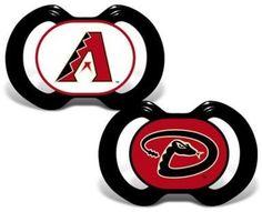 Baby Fanatic Gen. 3000 MLB Arizona Diamondbacks 2-Pack Pacifiers