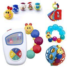 Developmental Baby Einstein Toy Bundle Tunes Bendy Ball Soft Book Gift Boy Girl