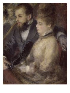 In the Theatre Giclee Print by Pierre-Auguste Renoir at Art.com