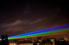 Rainbow installation by Yvette Mattern