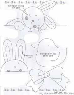 Bunny Applique For Baby Quilt Mysew Baby Boy Quilts