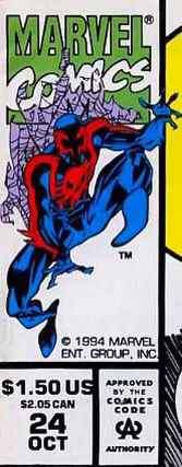 Marvel corner box art - Spider-Man 2099