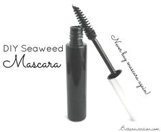 DIY Nourishing Seaweed Mascara | Butter Nutrition