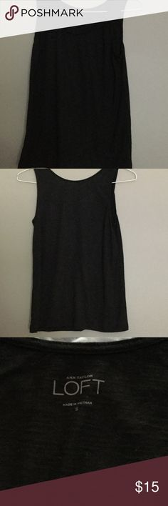 Ann Taylor Loft Black Dress Tank Size Small Size Small Ann Taylor Loft Dress Tank Ann Taylor Loft Tops Tank Tops