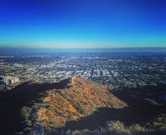 Yesterday's Runyon, oh how I've missed thee! #latergram #runyon #hike #run #losangeles  #city #mountains