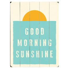 Bring a charming touch to your foyer or breakfast nook with this planked wood wall decor, showcasing a sunrise motif with typographic detailing....