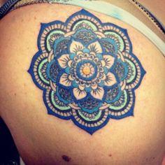 Mandala Tattoo   tatuajes | Spanish tatuajes  |tatuajes para mujeres | tatuajes para hombres  | diseños de tatuajes http://amzn.to/28PQlav