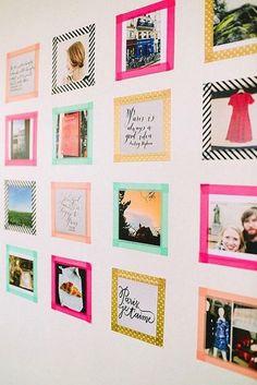 decorar con washi tape 1 » Vivir Creativamente