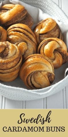 Swedish Cardamom Buns give you sweet and tasty rolls with warm and bright flavors of cinnamon and cardamom spices combined. #cardamom #swedishBuns #cinnamonRolls | Woman Scribbles