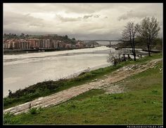 The Estuary of Bilbao lies at the common mouth of the rivers Nervion, Ibaizabal and Cadagua, that drain most of Biscay and part of Alava in the Basque Country, Spain. Wikipedia
