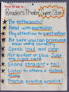 5 Reader's Theater Myths Debunked (and Tips to Make it Work in YOUR Class!) ) ) 5 Reader's Theater Myths Debunked (and Tips to Make it Work in YOUR Class! Reading Lessons, Reading Strategies, Reading Skills, Listening Skills, Teaching Theatre, Teaching Reading, Guided Reading, Teaching Ideas, Student Teaching