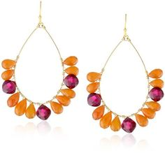 "$245 Mother's day deals on Wendy Mink products: Wendy Mink ""Brights"" Teardrop Wrap Earrings 