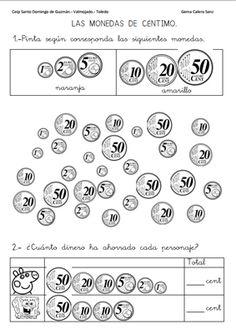 23 Ideas De Monedas Y Billetes En 2021 Fichas De Matematicas Matematicas Monedas