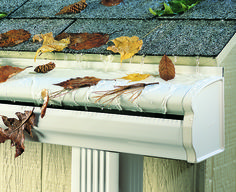 LeafGuard gutters keep leaves and other debris out of your gutters, so you never have to climb ladders to clean out clogs or worry about water damage caused by clogged gutters.