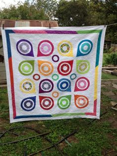 Sew And Tell Quilts: Come On Get Happy!