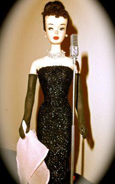 """brunette Barbie #3 in """"Solo in the Spotlight"""""""