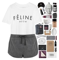 """""""living dreams we can never afford // tag"""" by anavukadinovic ❤ liked on Polyvore featuring Brian Lichtenberg, Topshop, MAKE UP FOR EVER, Stila, NARS Cosmetics, JCPenney Home, Korres, Fjällräven, Brinkhaus and CB2"""