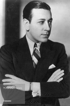 George Raft (born George Ranft; September 26, 1901 – November 24, 1980) - American film actor and dancer identified with portrayals of gangsters in crime melodramas of the 1930s and 1940s. A stylish leading man in dozens of movies, today Raft is mostly known for his gangster roles in the original Scarface (1932), Each Dawn I Die (1939), and Billy Wilder's 1959 comedy Some Like it Hot.
