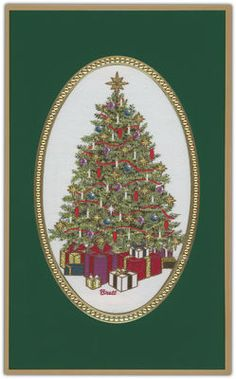 Christmas Morning Tapestry Holiday Cards
