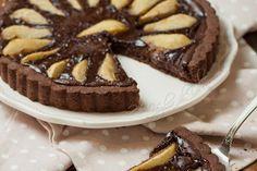 Crostata di pere e cioccolato cremosa