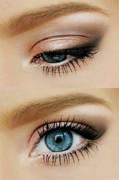 Best Summer Eye Make Up Looks, Ideas, Styles & Trends 2015 - Prom Makeup Peach Makeup, Blue Eye Makeup, Smokey Eye Makeup, Makeup Eyeshadow, Makeup Light, Smoky Eye, Fresh Face Makeup, Eyeshadow Ideas, Eyeshadow Palette