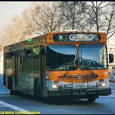 Bus Number, New Flyer, Busses, Gta, North America, American, Board, Vintage, Los Angeles