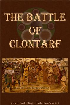 The Battle of Clontarf took place in 1014 and is one of the most significant battles in Irish history. It is often celebrated as a great Irish victory as the native forces finally saw off a powerful foreign invader – the Vikings.