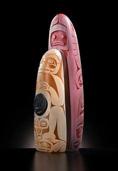 Preston Singletary: Tlingit Monolith, 2013