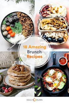 18 Brunch Recipes That'll Make You Want to Eat In via @dailyburn