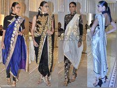 Manav Gangwani Sarees | Found on sareetimes.com